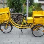 Postrad aus Aachen