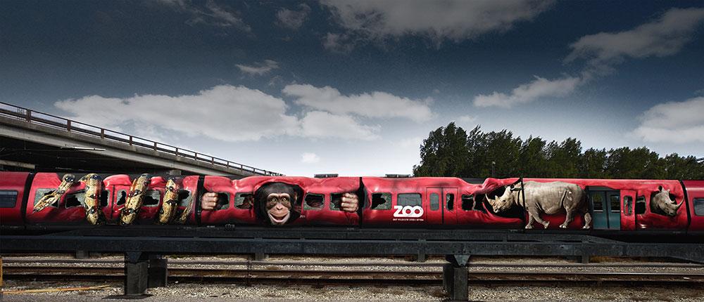 tierischer Ausbruch aus der S-Bahn