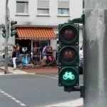 Ampel für Radfahrer