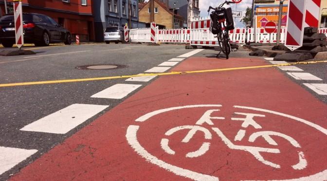 Ratlos ohne Radweg