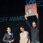 Foto der Gewinner Off Award