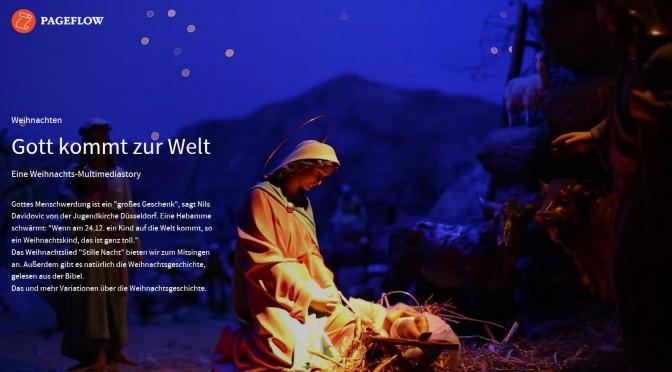 Weihnachten – ein Pageflow ist erschienen