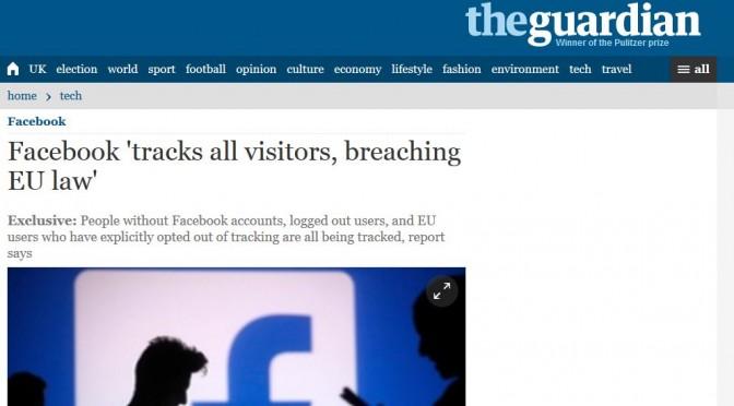 mein Internet: Facebook trackt Euch alle!