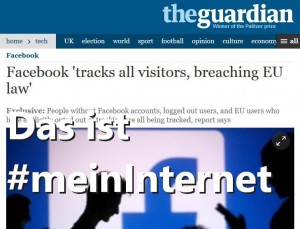 Guardian Facebook tracks all visitors