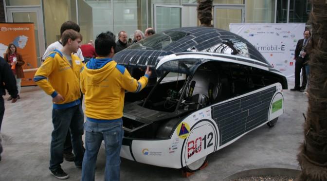 Solarauto der HS Bochum