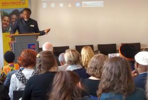 Eric Chinje von AMI bei Tagung in Dortmund