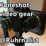 My #MoJo gear with gimbal for webvideo