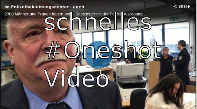 Kommentiertes Beispiel eines Oneshot Videos für die Lokalzeitung