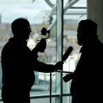 Interview mit Smartphone