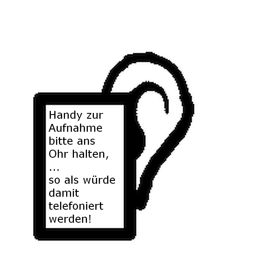 Handy am Ohr - Symbolbild