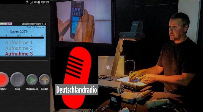 Interview App für den Deutschlandfunk (DLF)