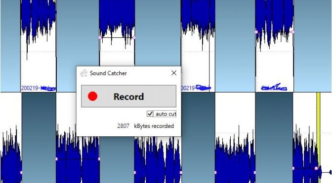 Ton am PC (Laptop) mit SoundCatcher aufnehmen