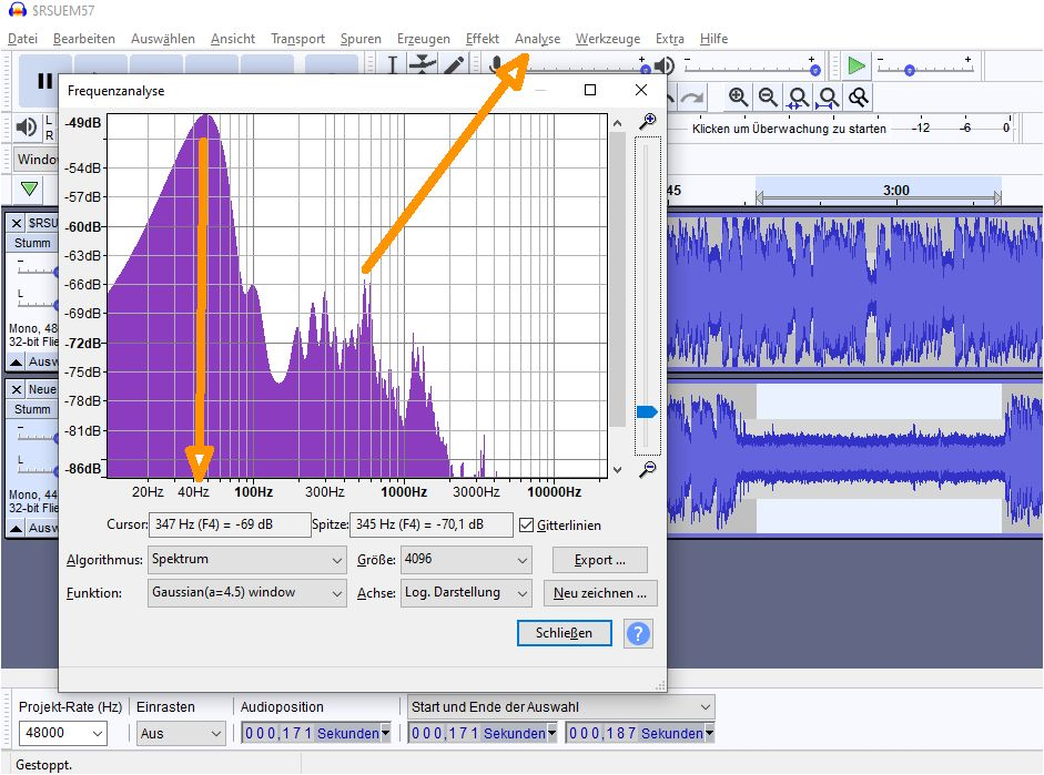 How-to-eliminate-distortion-with-parametric-EQ in Audacity