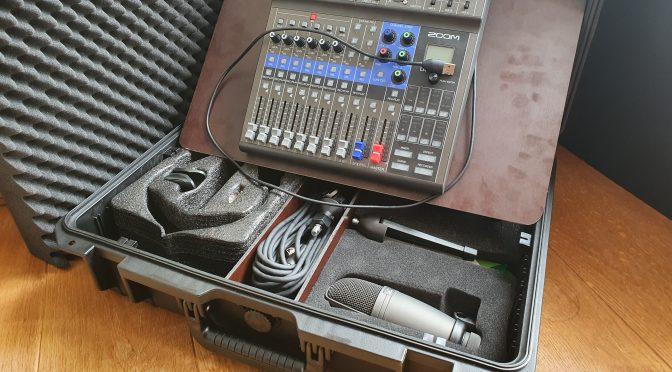 Die #PodMixBox: das mobile Audio-Studio im Koffer